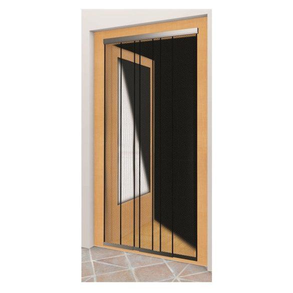 Rovarvédő függöny poliészter, 5 részes, 120*250 cm, szürke