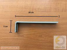 Oldalfali tartókonzol 200 mm - pezsgő színű