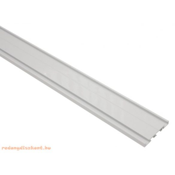 2. Slim line kétsoros alumínium függönysín - fehér