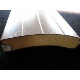 Alumínium redőnyléc, 77 mm-es (garázskapu redőnyhöz)