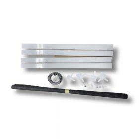 Peremes alumínium szúnyogháló szett (11*30 mm)