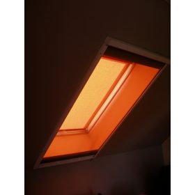Mérési segédlet - alumínium keretes rolós szúnyoghálóhoz tetőtéri ablakra