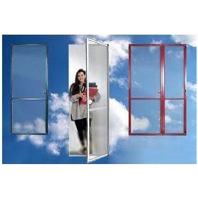 Szúnyogháló nyíló ajtó (összeszerelt) - egyedi méretre gyártott