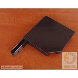 4. Redőnytok végprofil (alu) 137mm barna