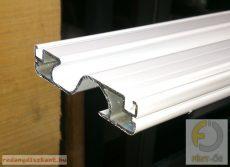 Szúnyogháló ajtóhoz S merevítő profil (osztó profil)