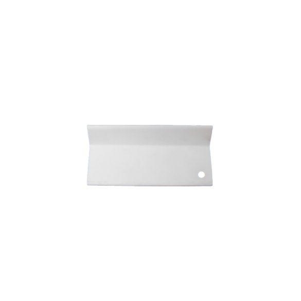 L alakú takaróprofil 50/80 mm - fehér