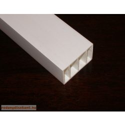 8. Műanyag kiemelő profil ( 35*50 ) - fehér, 160 cm-es darabok