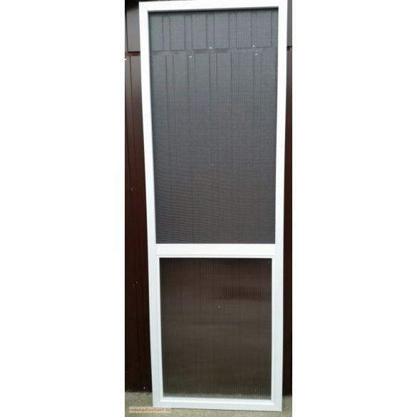 1. Szúnyogháló ajtó szett - egyedi méretre gyártott (POLIKARBONÁT BETÉTTEL)