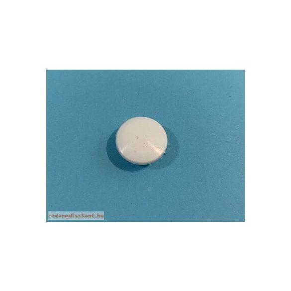 Furattakaró dugó 8 mm-es - fehér