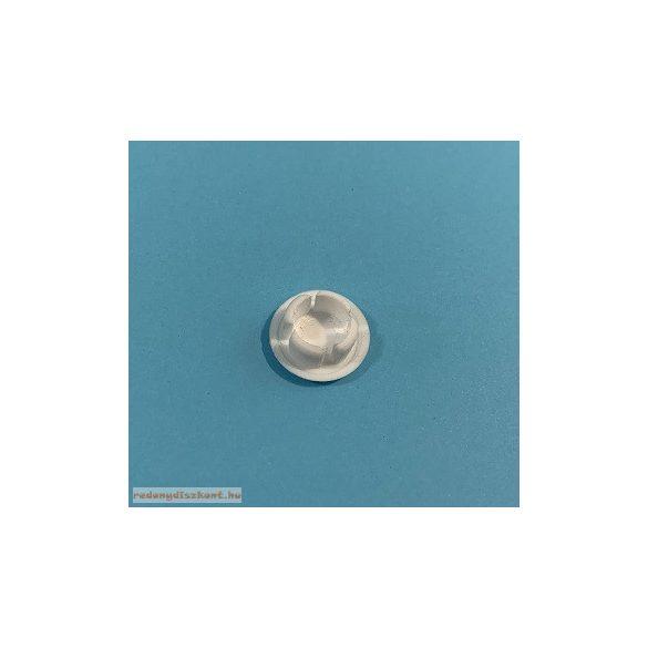 Furattakaró dugó 10 mm-es - fehér