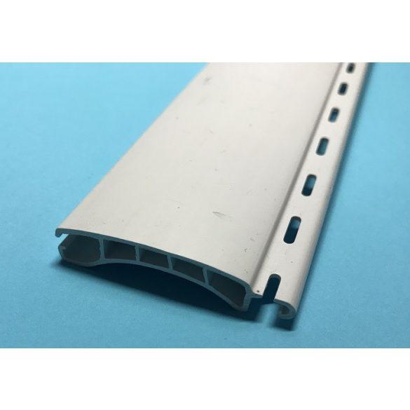 5. Redőnyléc  ( mini, műanyag ) 37mm - fehér, 13 dkg-os, vastagabb, egész szál