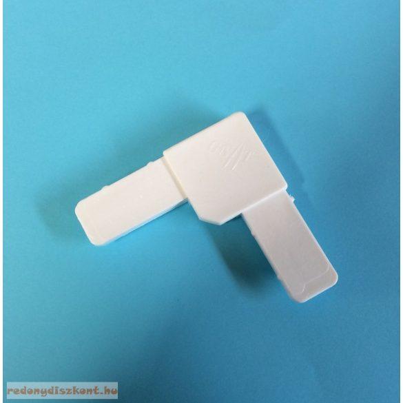 8. Szúnyogháló sarok elem (10*26-os kerethez)- fehér