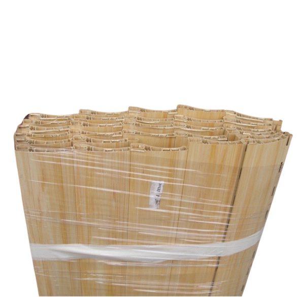 Műanyag redőnypalást 50mm-es léccel (maxi) - világos fa