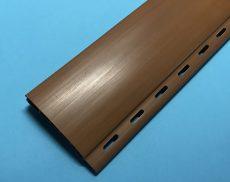 5. Redőnyléc  ( mini, műanyag ) 37mm - mogyoró, UV álló