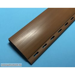5. Redőnyléc  ( mini, műanyag ) 37mm - aranytölgy, UV álló, egész szál