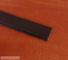 3. Záróléc (alumínium, gumihengerrel)- barna