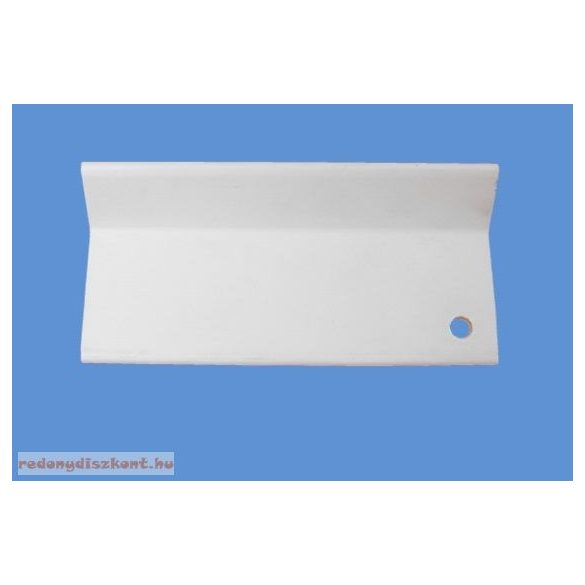 L alakú takaróprofil 50/100 mm - fehér