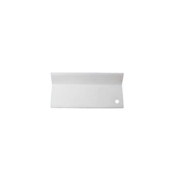 L alakú takaróprofil 80/100 mm - fehér