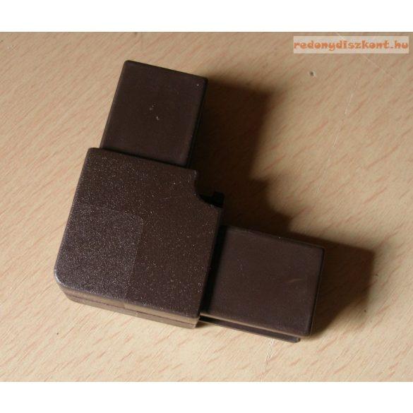 9. Szúnyogháló sarokelem (műanyaghoz)- barna
