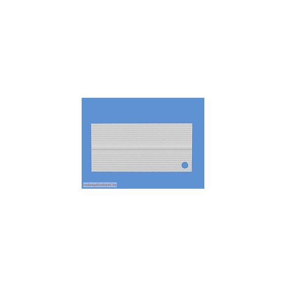 4. Hajlítható takaróprofil 25/25 mm (50 mm) - fehér