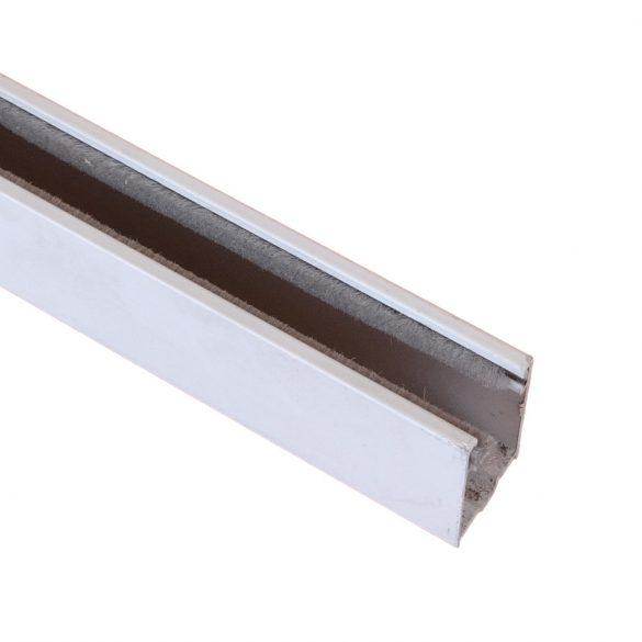 Mini lefutó,  kamra nélküli (alumínium, kefés)   fehér