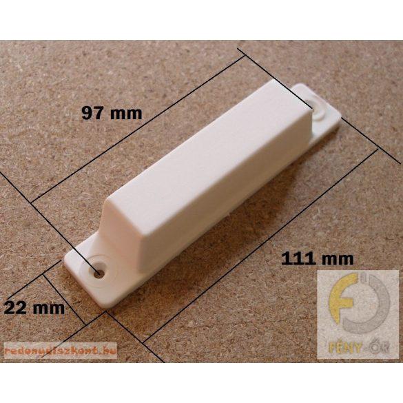 5. Szúnyogháló ajtó kilincs, műanyag-barna