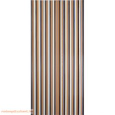 Retro térelválasztó függöny, 90*200 cm, Barna-beige színű,