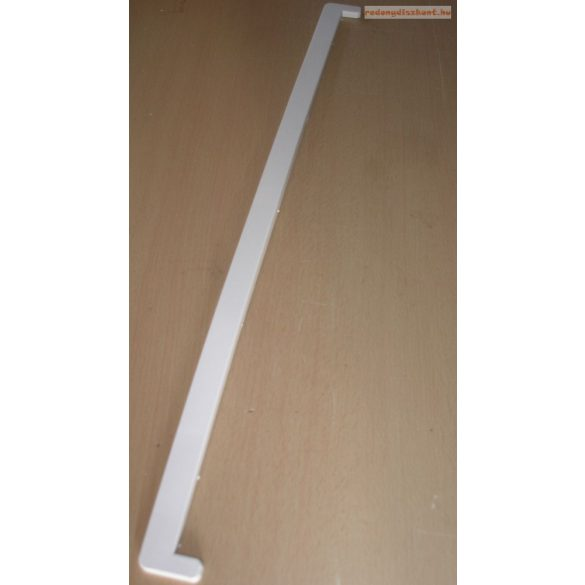 4. Műanyag végzáró profil 600mm (beltéri 2 cm kamrás párkányhoz)
