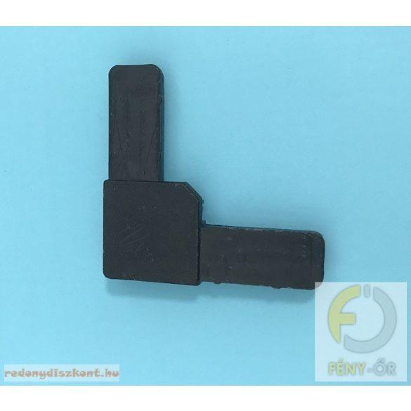 8. Szúnyogháló sarok elem (10*26-os kerethez)- fekete