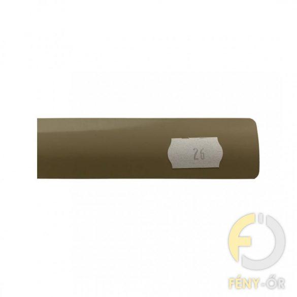 ISO DESIGN Reluxa -   kávé barna (26) - gyöngyláncos (25 mm-es)