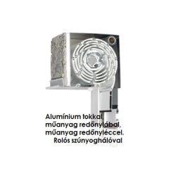 4. Vakolható külső-tokos műanyag redőny, KOMBI (alu tokkal, alu lábbal)