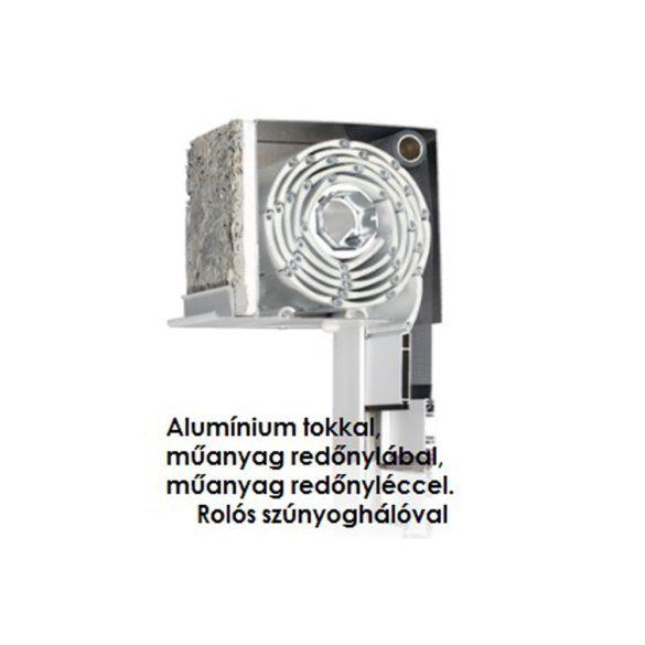 2. Vakolható külső-tokos műanyag redőny, KOMBI (alu tokkal, alu lábbal)