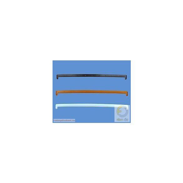 Műanyag ablakpárkány, beltéri, fóliás, 200mm (antracit)