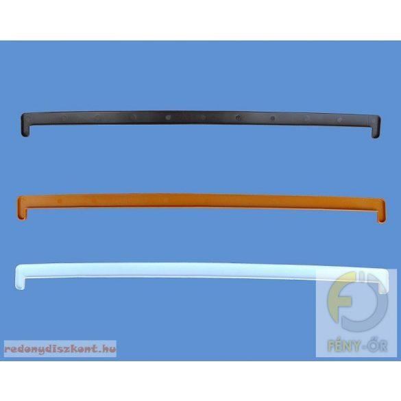 4. Műanyag ablakpárkány, beltéri, fóliás, 300mm (antracit)