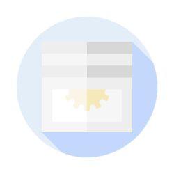 Rolós szúnyogháló, műanyag kerettel, tetőtéri ablakra (aranytölgy fóliás) - egyedi méretre gyártott