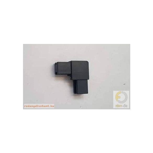 9. Szúnyogháló sarokelem (műanyaghoz)- antracit