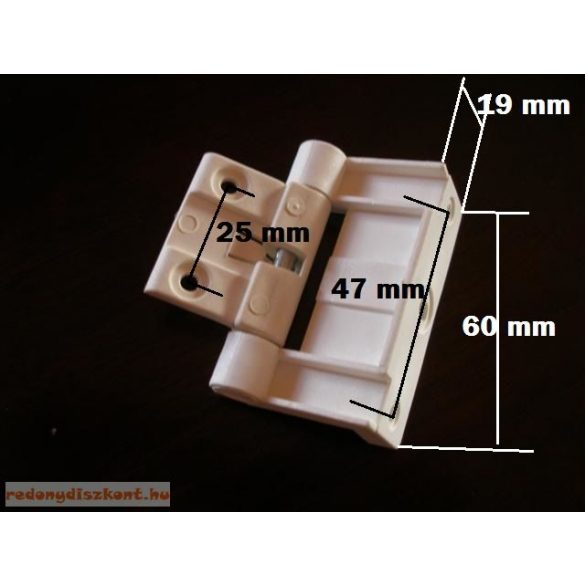 3. Szúnyogháló ajtó zsanér(rugós)-fekete