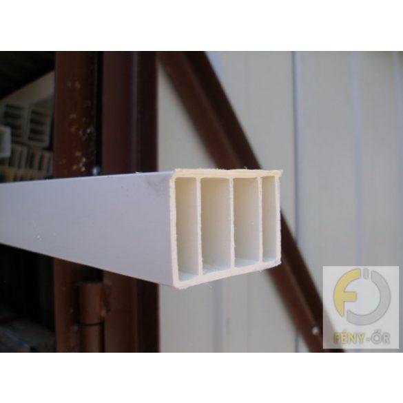 8. Műanyag kiemelő profil ( 35*50 ) - fehér