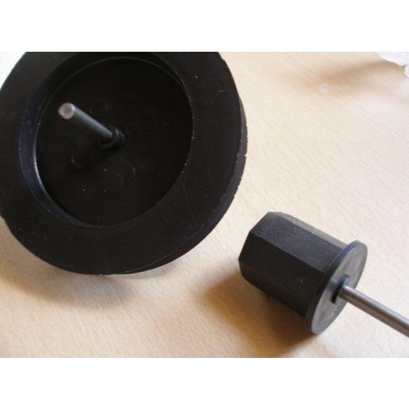 1. Tárcsa, dugó és csapszeg szett (mini) műanyag hengerhez