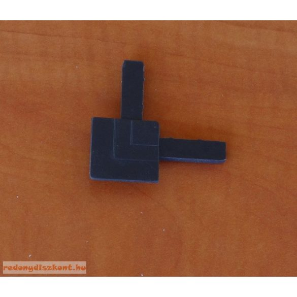 9. Szúnyogháló sarok elem (peremes aluhoz)-barna