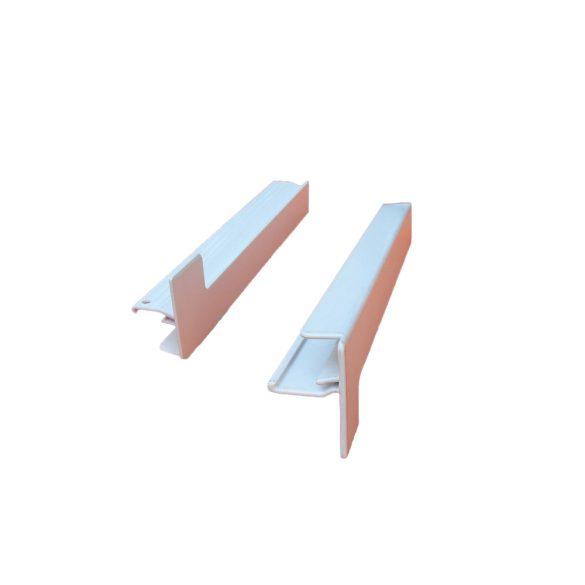6.2. ALUMÍNIUM végzáró profil (alumínium párkányhoz) 260-360 mm