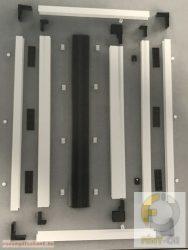 4. Pliszé szúnyogháló ajtó (egy oldalra húzható, maximum 190 cm szélességig)