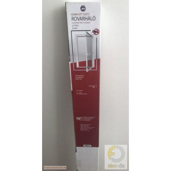 Rovarháló alumínium kerettel, 120*240 cm, ajtóra, fehér