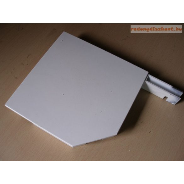 4. Redőnytok végprofil (alu) 165mm  fehér