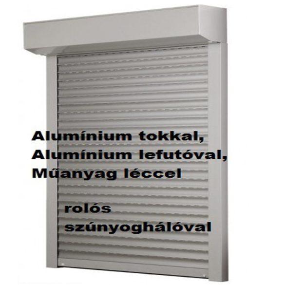 6. REDEX ALU KOMBI LUX műanyag redőny - rolós szúnyoghálóval egybeépítve (alumínium tokkal, alumínium lefutóval)