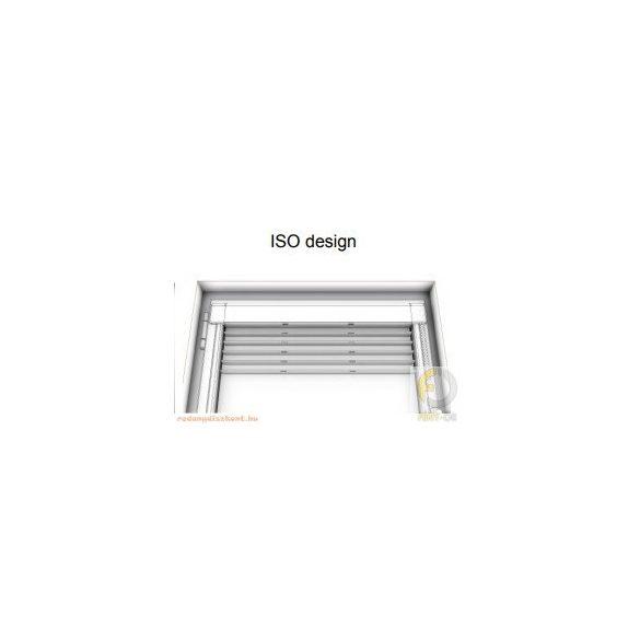 ISO DESIGN Reluxa -   ezüst (17) - gyöngyláncos (25 mm-es)