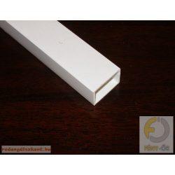 8. Műanyag kiemelő profil ( 25*35 ) - fehér
