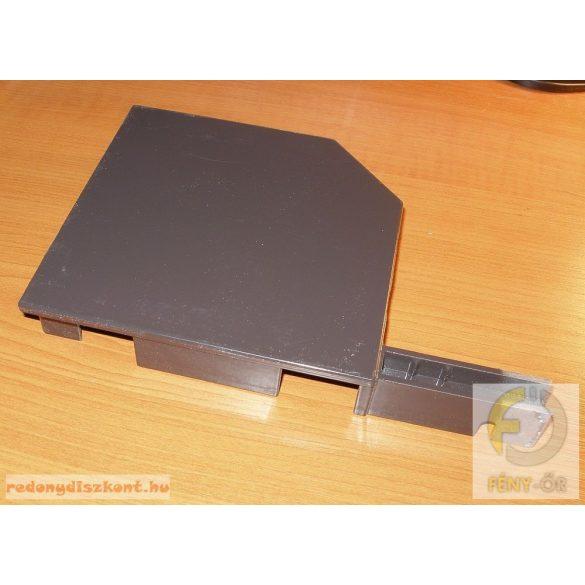 4. Redőnytok végprofil (alu) 165mm barna