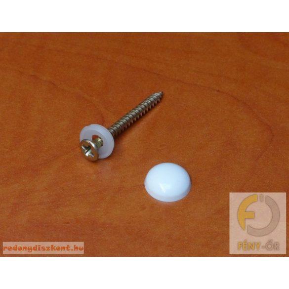 Tükörgomb (modern) - antracit