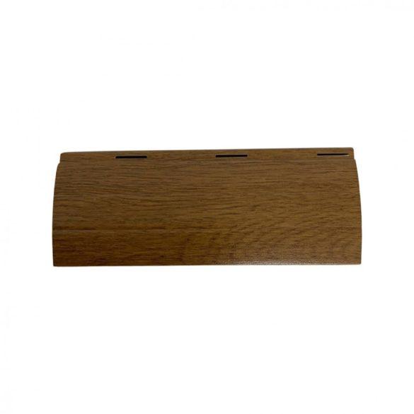 Redőnyléc  (maxi, 55 mm, alumínium)- aranytölgy